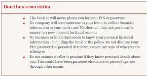Telegraph scam warnings